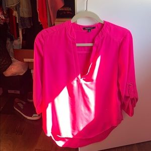 Bright pink necessary blouse